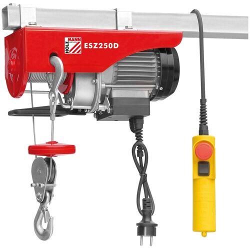 Holzmann -MASCHINEN Elektrischer Seilzug »ESZ250D«, 250 kg, rot