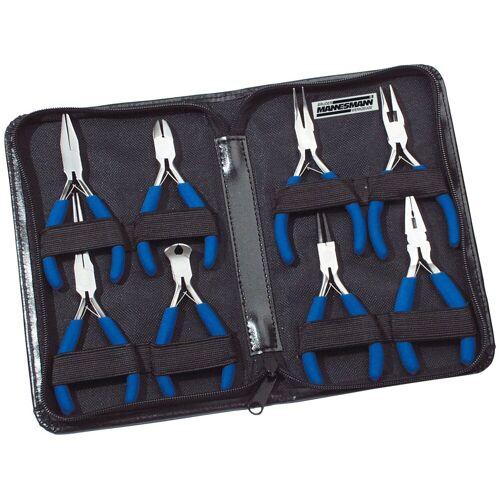 Brüder Mannesmann Werkzeuge BRUEDER MANNESMANN WERKZEUGE Zangensatz , Elektronik-Zangensatz 8-tlg., blau