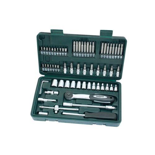 Brüder Mannesmann Werkzeuge Brueder Mannesmann Werkzeuge Steckschlüsselsatz »(65-tlg.)«, grün