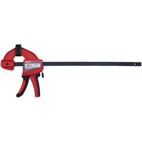 Connex Schraubzwinge »Power-Spannzwinge«, Einhandzwinge, 450 mm, rot