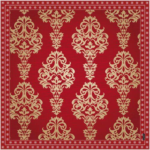 MySpotti Vinylbodenmatte »Mayra«, eckig, wasserfest und statisch haftend, rot