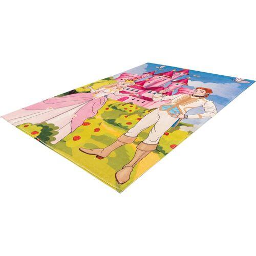 Obsession Kinderteppich »My Juno 473«, , rechteckig, Höhe 10 mm, Spielteppich, Prinzessinnen Motiv, Kinderzimmer