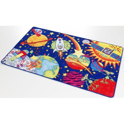 Böing Carpet Kinderteppich »Weltall WA-1«, , rechteckig, Höhe 2 mm, Druckteppich