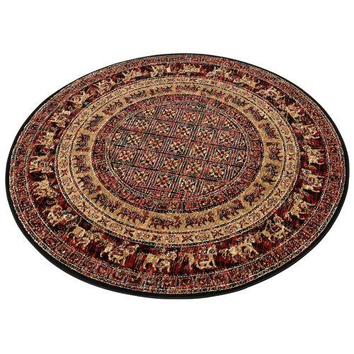 my home Teppich »Karavane«, , rund, Höhe 7 mm, Orient - Dekor, rot