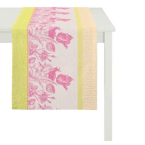 Apelt Tischläufer »TULIP« (1-tlg), pink-bunt