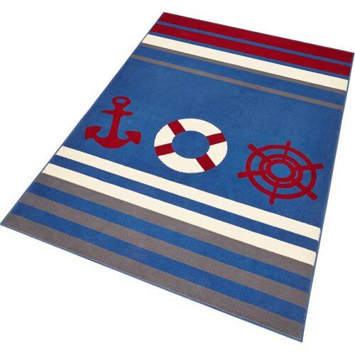 HANSE Home Teppich »Maritim«, , rechteckig, Höhe 9 mm, Anker und Steuerrad Motiv, Kurzflor