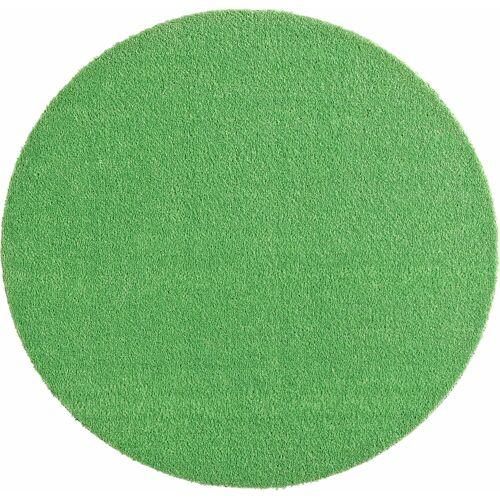 HANSE Home Teppich »Deko Soft«, , rund, Höhe 7 mm, waschbar, rutschhemmend, grün