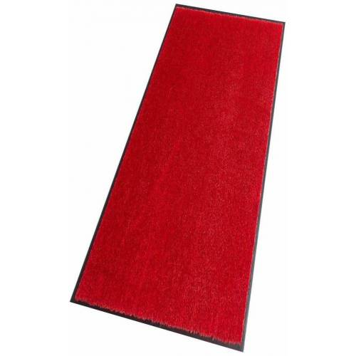 HANSE Home Läufer »Deko Soft«, , rechteckig, Höhe 7 mm, waschbar, rot
