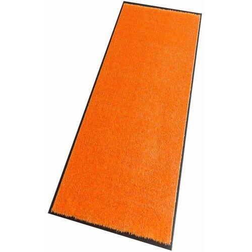 HANSE Home Läufer »Deko Soft«, , rechteckig, Höhe 7 mm, waschbar, orange