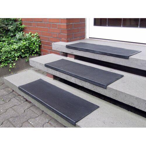Andiamo Stufenmatte »Gummi«, , rechteckig, Höhe 7 mm, Gummi-Stufenmatten, Treppen-Stufenmatten, 5 Stück, In- und Outdoor geeignet