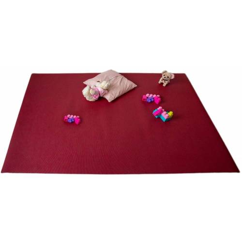 Mr. Ghorbani Teppich »Krabbelmatten Rot Kinderspielmatten Krabbelunterlage diverse Größen«, , Rechteckig, Höhe 4.5 mm