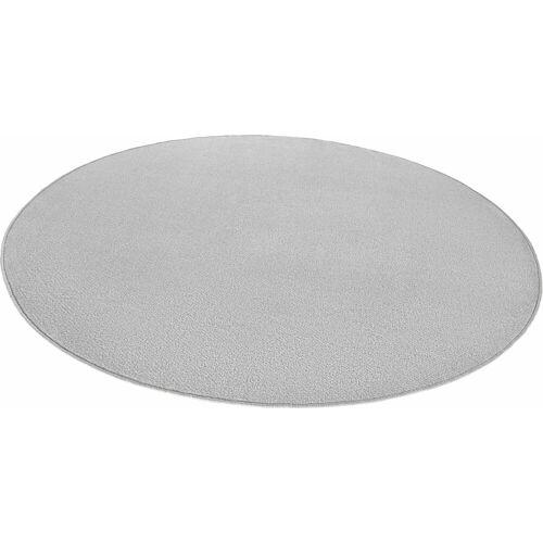 HANSE Home Teppich »Fancy«, , rund, Höhe 7 mm, Kurzflor, gekettelt, Wohnzimmer, grau