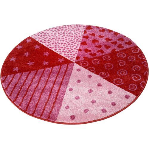 Sigikid Kinderteppich »Canon«, , rund, Höhe 13 mm, rot