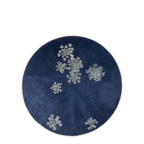 Essenza Teppich »Lauren«, , rund, Höhe 6 mm, sehr weicher Flor