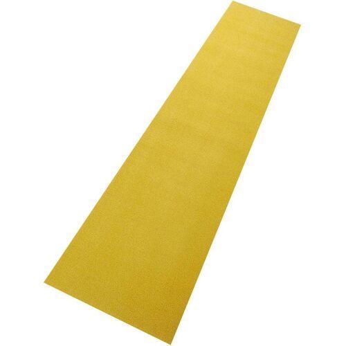 Living Line Läufer »Trend«, , rechteckig, Höhe 8 mm, Velours, gelb