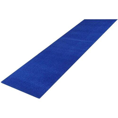 Living Line Läufer »Trend«, , rechteckig, Höhe 8 mm, Velours, blau