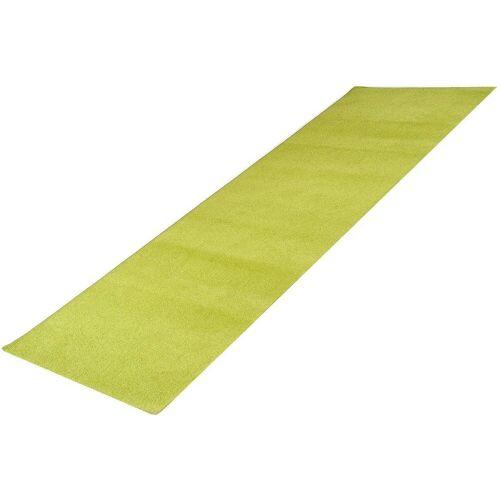 Living Line Läufer »Trend«, , rechteckig, Höhe 8 mm, Velours, grün