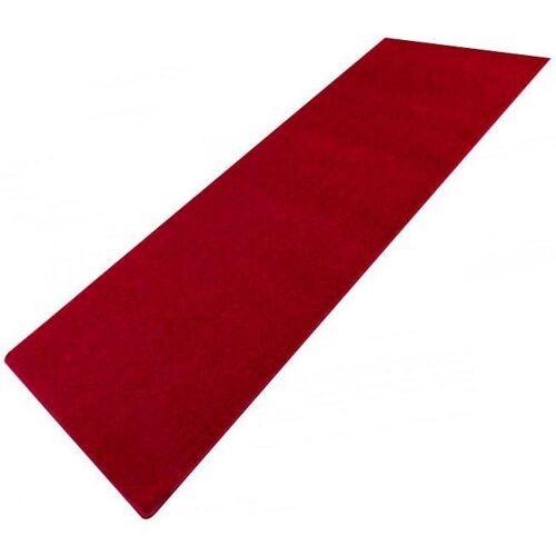 Living Line Läufer »Trend«, , rechteckig, Höhe 8 mm, Velours, rot