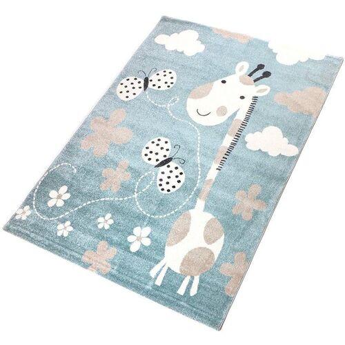 Living Line Kinderteppich »Giraffe«, , rechteckig, Höhe 12 mm