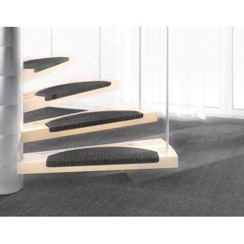 Dekowe Stufenmatte »Mara S2«, , halbrund, Höhe 5 mm, 100% Sisal, grau