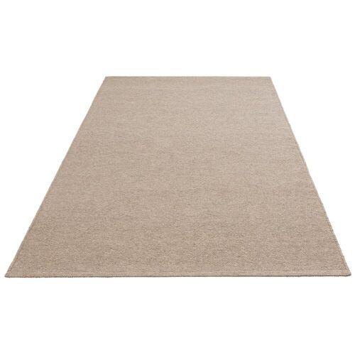 my home Wollteppich »Sunil«, , rechteckig, Höhe 10 mm, Nutzschicht 100% Wolle, grau