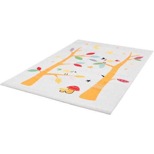 Sanat Kinderteppich »Bambino 2110«, , rechteckig, Höhe 12 mm, Kurzflor, weiß