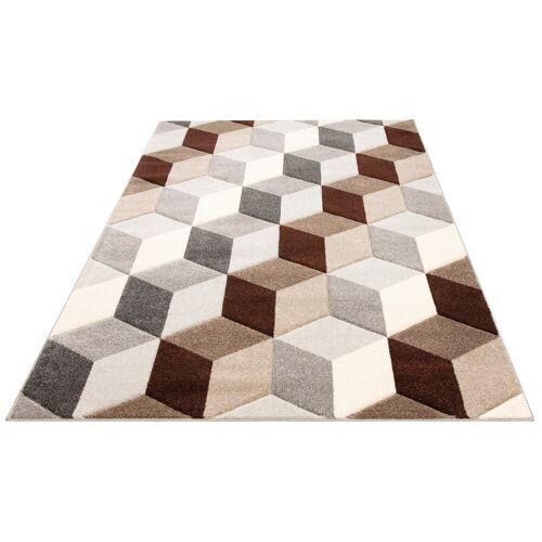 my home Teppich »Alba«, , rechteckig, Höhe 14 mm, Konturenschnitt
