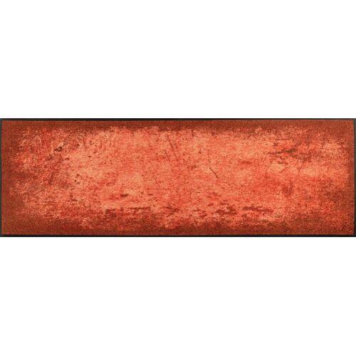 wash+dry by Kleen-Tex Läufer »Shades of Grey«, , rechteckig, Höhe 7 mm, rot