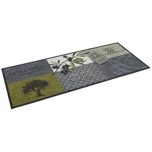 Pergamon Küchenläufer »Küchenläufer Teppich Trendy Olives«, , Höhe 5 mm