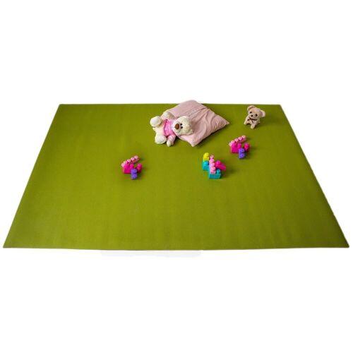 Mr. Ghorbani Teppich »Krabbelmatten Grün Kinderspielmatten Krabbelunterlage diverse Größen«, , Rechteckig, Höhe 4.5 mm