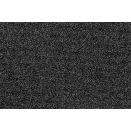 Andiamo Nadelvliesteppich »Milo«, , rechteckig, Höhe 3 mm, Festmaß 200 x 400 cm, Kurzflor, anthrazit