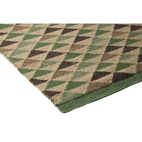 heine home Handwebteppich handgearbeitet, grün