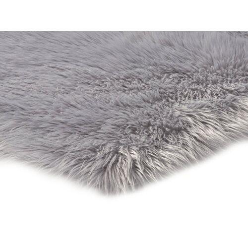 heine home Teppich Synthetik Lammfell, grau