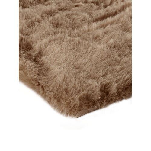 heine home Teppich Synthetik Lammfell, beige