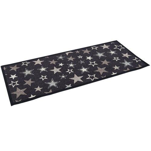 Pergamon Küchenläufer »Küchenläufer Teppich Trendy Sterne«, , Höhe 5 mm