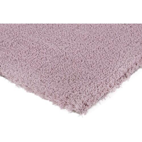 heine home Teppich weiche Microfaser, mauve