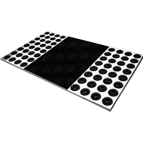 Radius Fußmatte »Edelstahl-Fußmatte Feet Back II 78 x 39 cm - 511 a«,