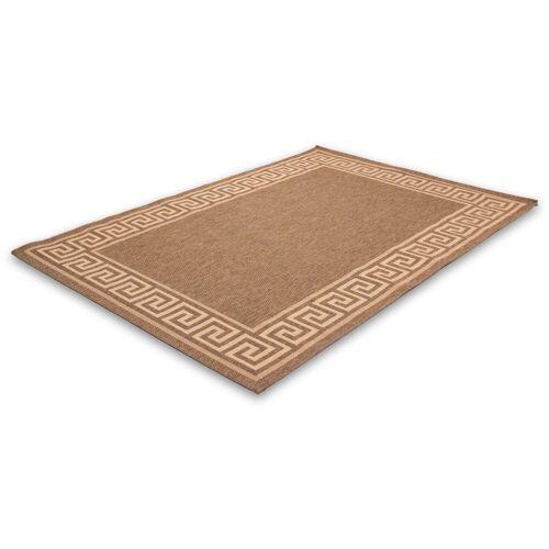 LALEE Teppich »Finca 502«, , rechteckig, Höhe 5 mm, Sisaloptik, coffee
