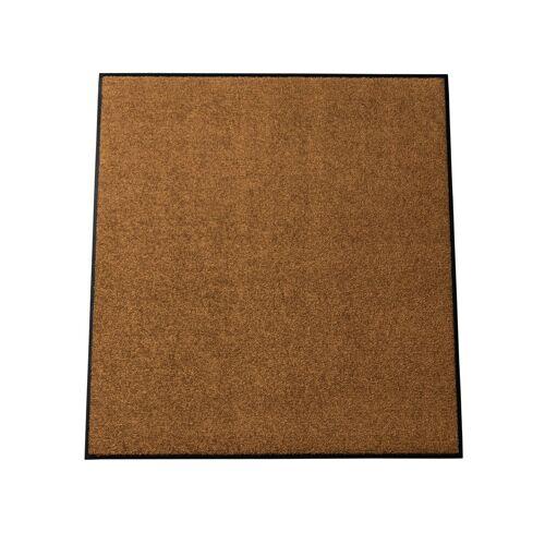 Salonloewe Fußmatte , waschbar, zimt