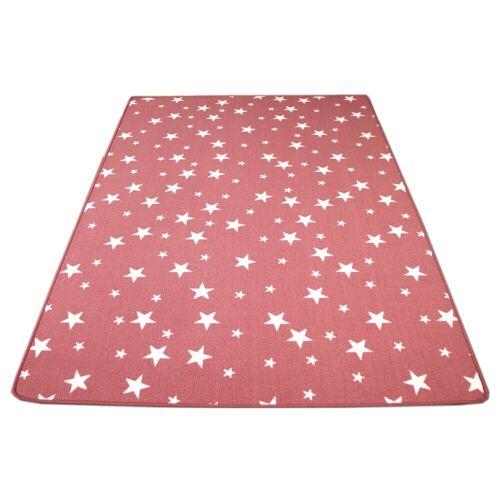 Snapstyle Kinderteppich »Kinder Spiel Teppich Sterne«, , Höhe 5 mm, Rosa