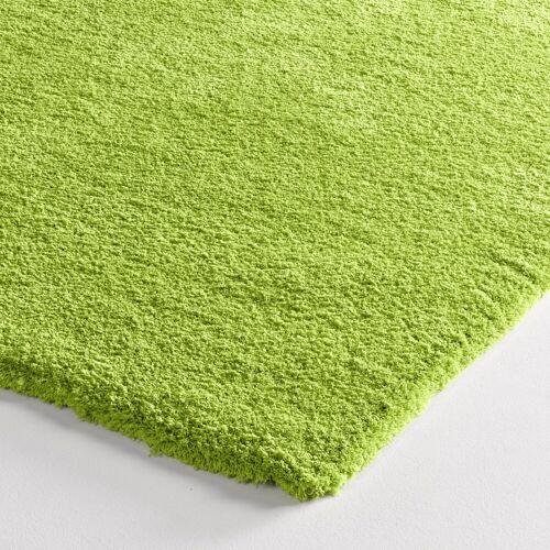 heine home Teppich weiche Microfaser, grün