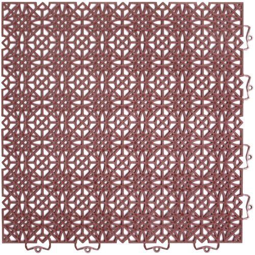 Andiamo Terrassenplatten »Terra Sol«, 38x38 cm, 7-St., 7 Stk., Klickfliesen
