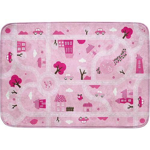 ACHOKA® Kinderteppich »Ultrasoft Spielteppich Bauernhof«, , rosa/pink