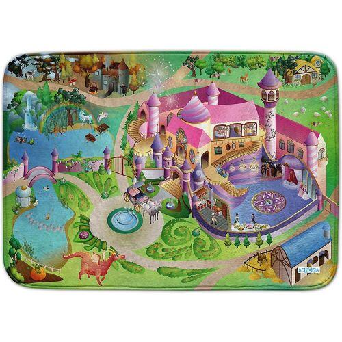 ACHOKA® Kinderteppich »Ultrasoft Spielteppich Bauernhof«, , rosa