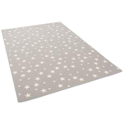 Snapstyle Kinderteppich »Kinder Spiel Teppich Sterne«, , Höhe 5 mm, Grau