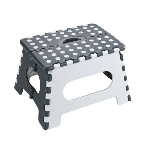 WENKO Badhocker Klapphocker Secura, faltbarer Tritthocker, extrem belastbar bis 350 kg
