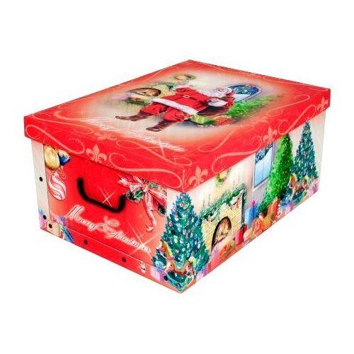 Kreher Aufbewahrungsbox »Weihnachtsmann«, rot