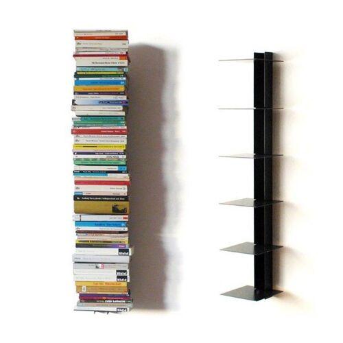 Haseform Wandregal »Bücherturm 90 cm (für 1 m Bücher) anthrazit Bücherregal Wandregal«