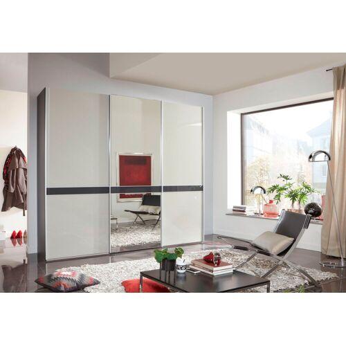 WIEMANN Schwebetürenschrank »Rialto« hochwertige Glas- und Spiegelfront mit Querriegel