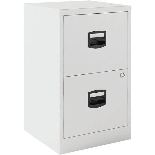 Bisley Home Hängeregisterschrank »PFA« aus Stahl, ohne Sockel, A4, weiß